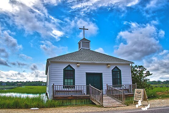 LIttle Old Church by TJ Baccari Photography