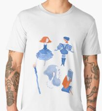 Shakespearean pattern -the Tempest Men's Premium T-Shirt