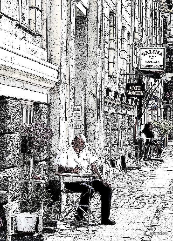 copenhagen alfresco by alexdee