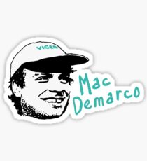 Mac Demarco - Drawn Head  Sticker