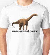 Sauropod way orange T-Shirt