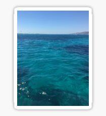 Island sea Sticker