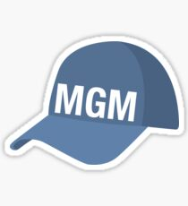 Montgomery Baseball Cap Sticker