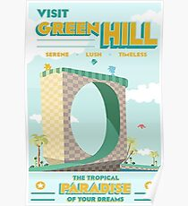 Green Hill Poster