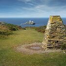 Godrevy lighthouse cornwall by eddiej