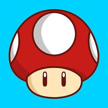 Mario Mushroom by Lauramazing