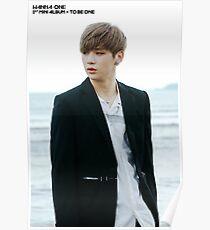 Wanna Oneㅣ1st Mini Album Photo 워너원의 데뷔 앨범 1X1=1 (TO BE ONE) Burn It Up BTS  Poster