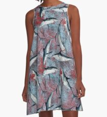 Bloody Great Whites - Weiße Haie  A-Line Dress