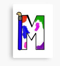 Moose Kicks Second Logo Canvas Print