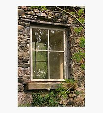 Looking Through The Window... Photographic Print