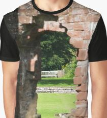 Brick out of the wall. Graphic T-Shirt