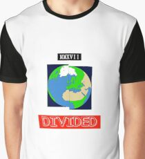 MMXVII Divided Earth  Graphic T-Shirt