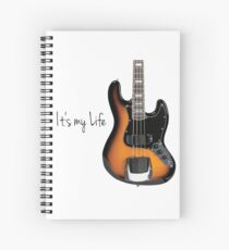 Guitar bass Spiral Notebook