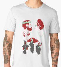 Shakespearean pattern - Macbeth Men's Premium T-Shirt