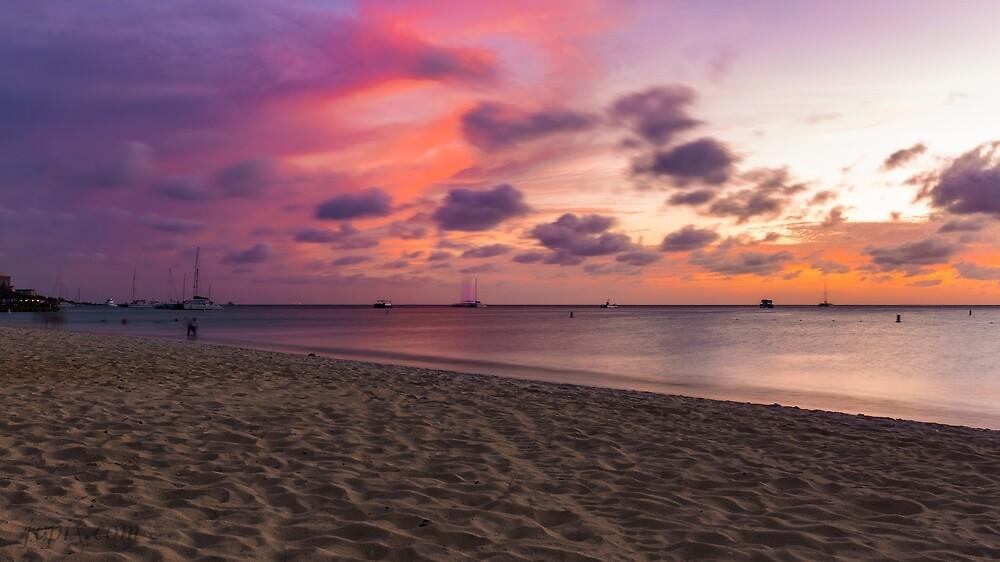Aruba Sunset by John Velocci