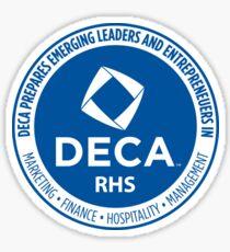 DECA Emblem Sticker