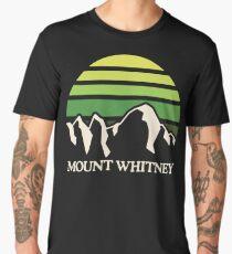 Mount Whitney | Mountain Sun Men's Premium T-Shirt
