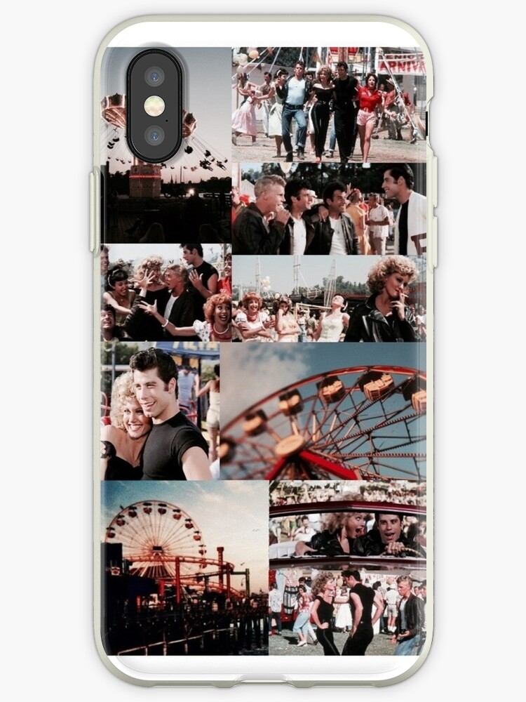 huge selection of dcee4 48432 'grease collage' iPhone Case by melissaxclaire