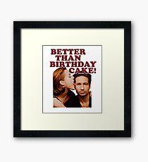 Gillovny: Better than birthday cake! Framed Print