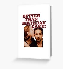 Gillovny: Better than birthday cake! Greeting Card