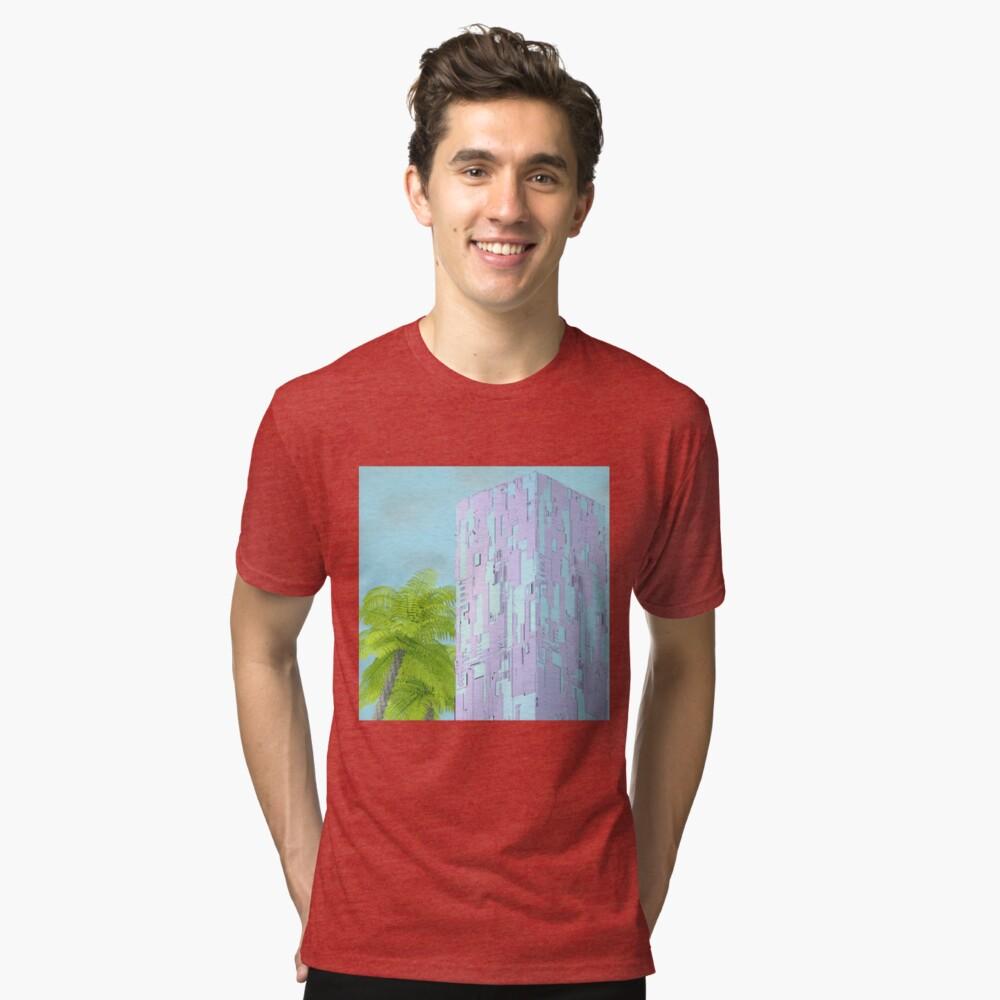 Paradise Tri-blend T-Shirt Front