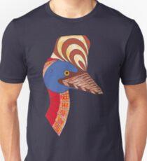 Australian Aboriginal Art - Cassowary Unisex T-Shirt