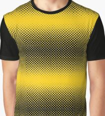 Bumble Bee Fur Pattern Graphic T-Shirt