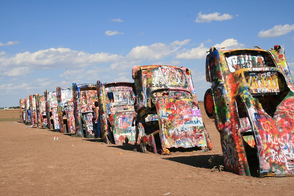 Cadillac Ranch by jujubean