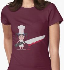 chef girl with knife T-Shirt