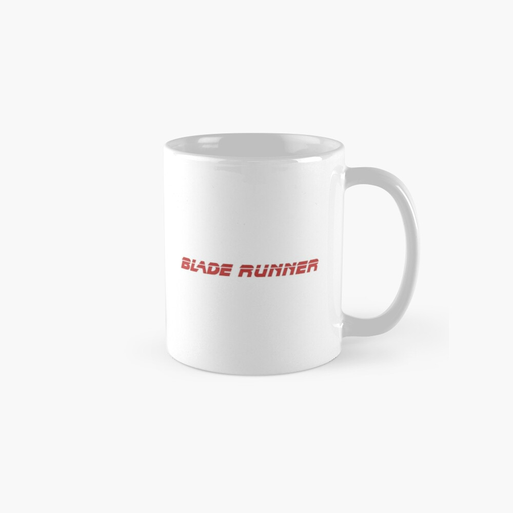 Blade Runner (rojo) Tazas