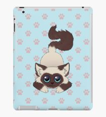 Cute playful ragdoll iPad Case/Skin
