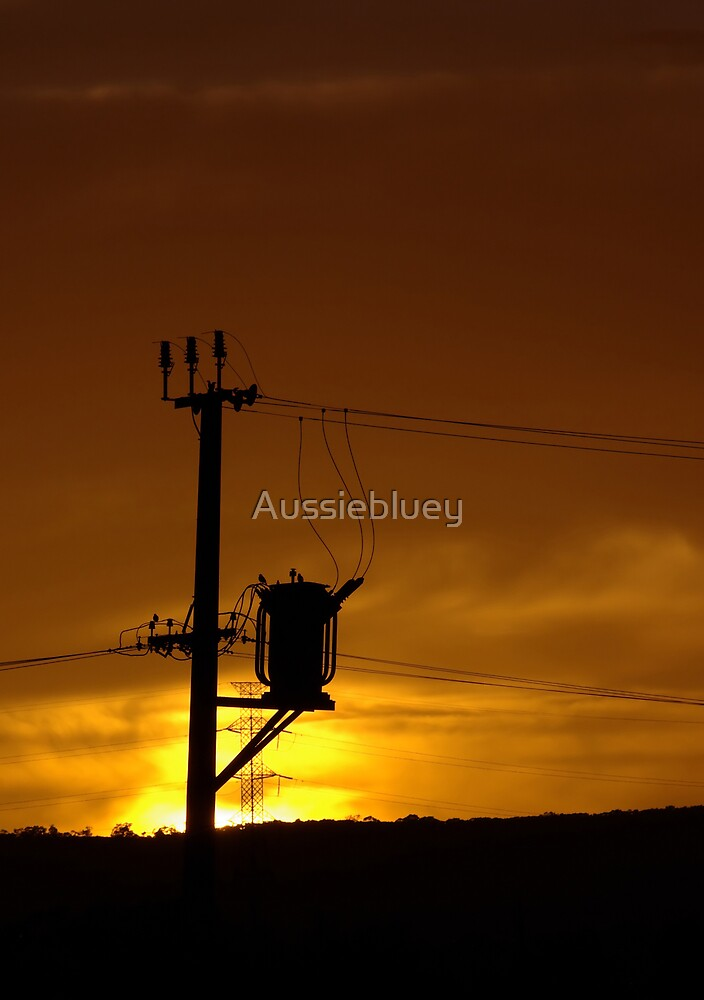 Transformer Silhouette. by Aussiebluey