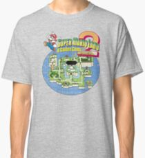 Super Mario Land 2 World Color Classic T-Shirt