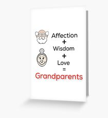 Grandparents' day Greeting Card