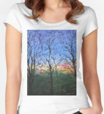 Syon Trees Women's Fitted Scoop T-Shirt