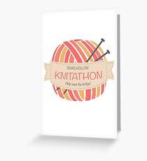 Stars Hollow Knitathon Greeting Card