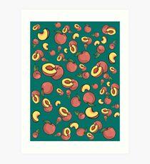 """Peachy"" Art Print"