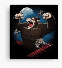Attack on Ozaru Canvas Print