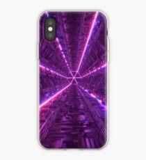 Purple Tunnel iPhone Case