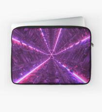 Purple Tunnel Laptop Sleeve