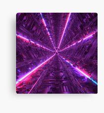 Purple Tunnel Canvas Print