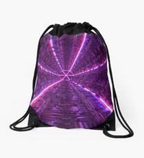 Purple Tunnel Drawstring Bag
