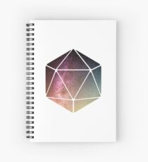 Galaxy of possibilities  Spiral Notebook