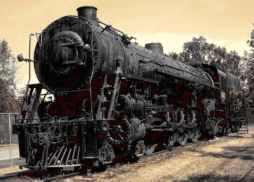 Steam Locomotive by kenspics