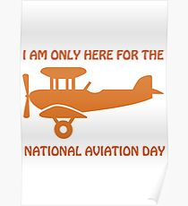 national aviation day Poster