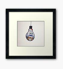Furry Ilumination Framed Print