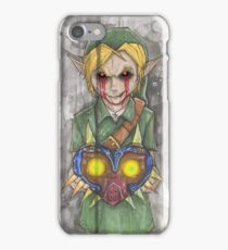 Zelda Link Ben Drowned Creepypasta iPhone Case/Skin