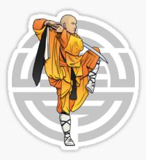 shaolin monk_4 Sticker