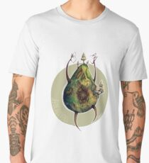 A is for Avocadavero The Haunted Avocado  Men's Premium T-Shirt