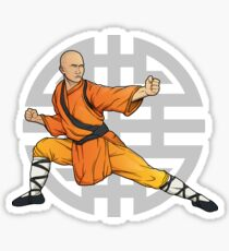 shaolin monk_5 Sticker